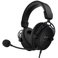 Наушники-гарнитура игровые HyperX HX-HSCAS-BK-WW Cloud Alpha S черный