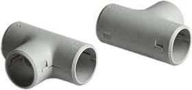 Тройник соединительный, РУВИНИЛ, Т01232, 32 мм, Разъёмный, (10 штук в упаковке)