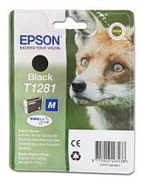 Картридж Epson C13T12814012 I-C black for S22-SX125 черный new