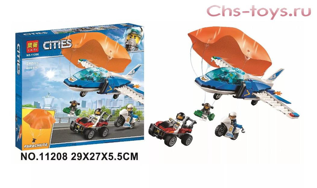 Детский конструктор аналог Лего 242 детали Cities модель NO. 11208 - фото 3
