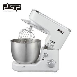 Миксер-тестомес кухонный с чашей DSP KM3030 [3 венчика, 5л, 1000 W] (Белый)