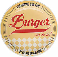 Тарелка для гамбургеров Oxford M02D-6783