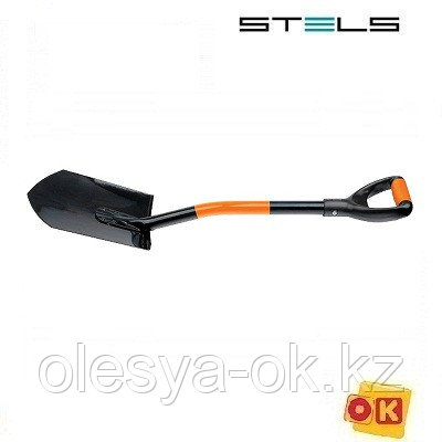 Лопата автомобильная, 84 см, цельнометаллическа. STELS. 61401