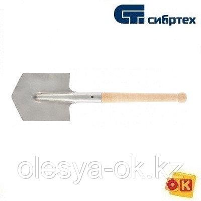 Лопата саперная, нерж. сталь, Россия. Сибртех. 61439, фото 2