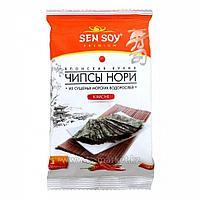 Чипсы Нори из морской капусты 4,5гр (SEN SOY) (Kimchi)