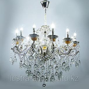 Люстра Классика 8825/12 Silver, фото 2