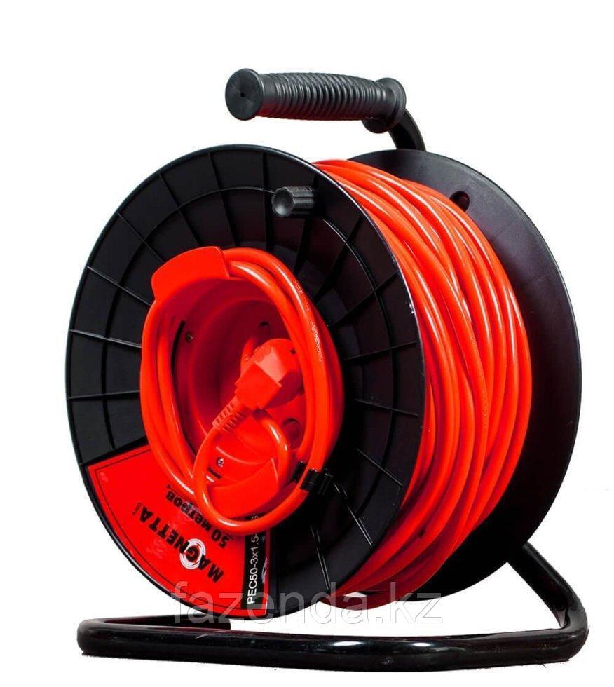 Удлинитель электрический на катушке 50м Magnetta