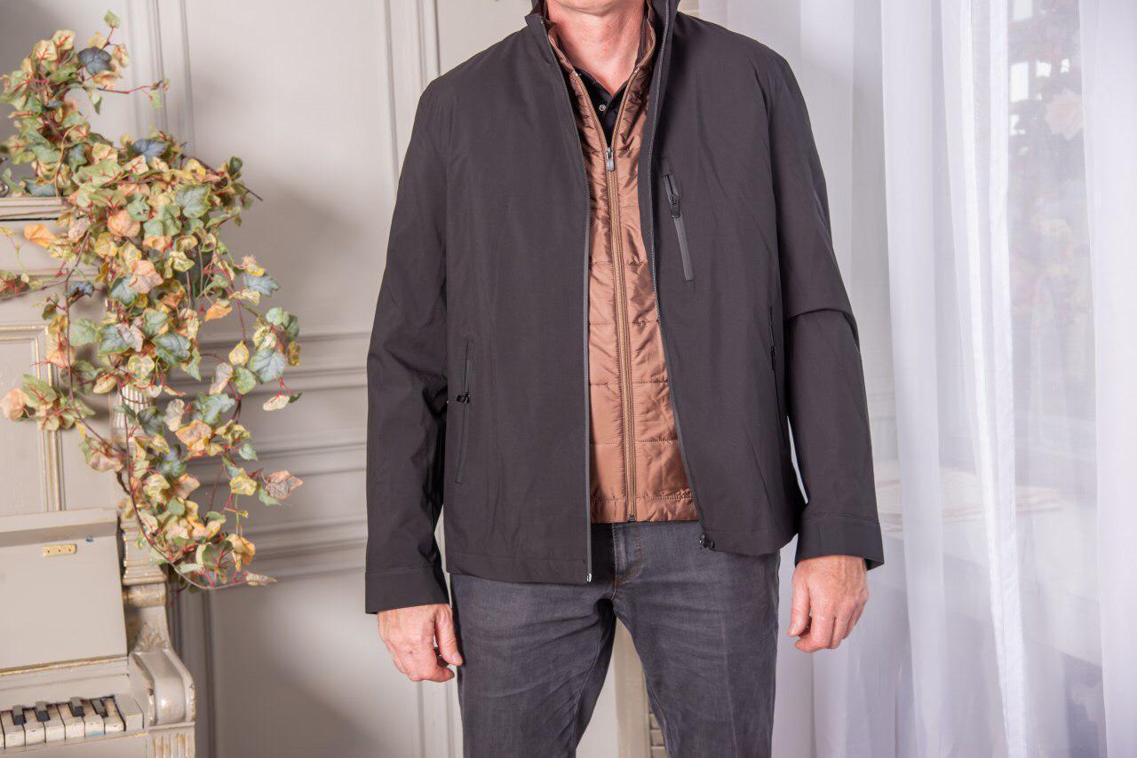 "Куртка с пристегивающимся на молнии жилетом ""Barcelo"" - фото 1"