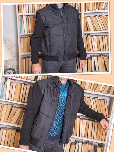 """Куртка утеплённая водоотталкивающая """"Barcelo"""" черная 56"""