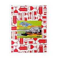 Коврик Freshouse Elite Viscose для сушки посуды (белый с красным рисунком)