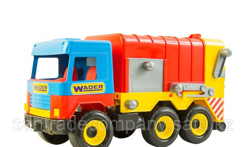 Машинка  Мусоровоз Wader Middle truck