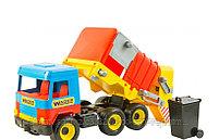 Машинка  Мусоровоз Wader Middle truck, фото 3