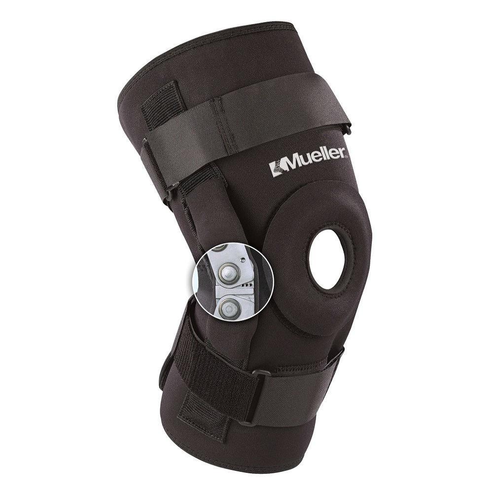 Бандаж на колено усиленный Mueller High Performance Hinged Knee Brace - фото 2