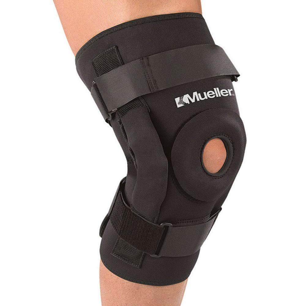 Бандаж на колено усиленный Mueller High Performance Hinged Knee Brace - фото 3