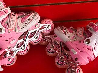 Роликовые коньки для девочек размер