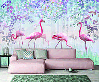 Фотообои фламинго, фото 1