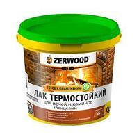Лак термостойкий ZERWOOD LT для печей и каминов 0,9кг