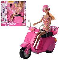 Кукла DEFA Lucy 8246 на скутере,