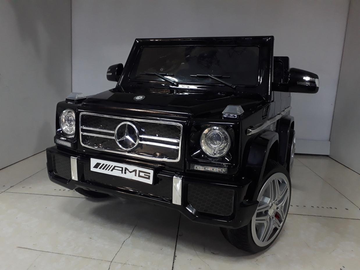 Оригинальный электромобиль Mercedes-Benz G 65 AMG Black. Kaspi RED. Рассрочка