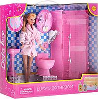 Defa Кукла Lucy в ванной комнате, арт. 8215