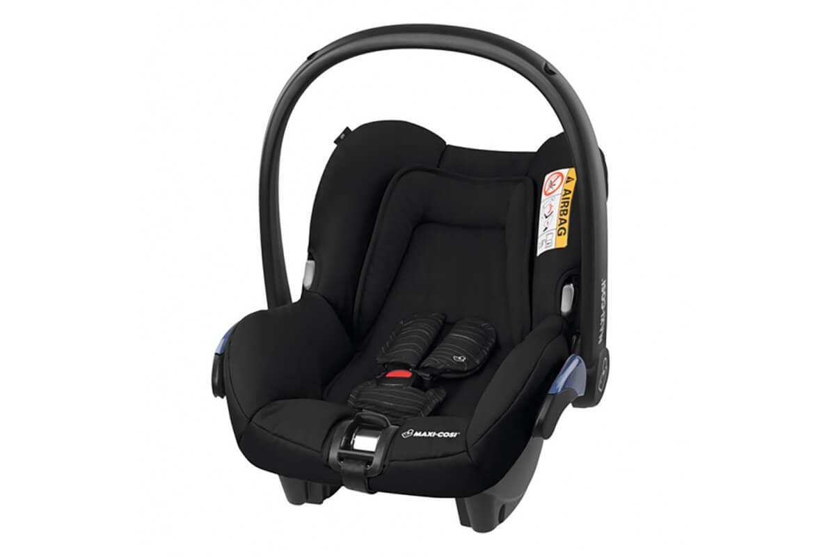 Maxi-Cosi Удерживающее устройство для детей 0-13 кг Citi SCRIBBLE BLACK черный 2шт/кор