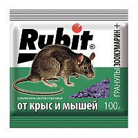 Рубит Зоокумарин+ гранулы сырные и ореховые 100г