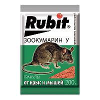 Рубит Зоокумарин+ гранулы сырные 200г