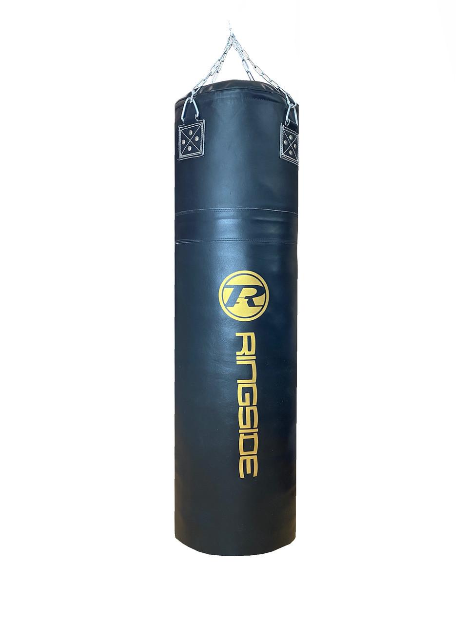 Боксерский мешок RINGSIDE из натуральной кожи (140х45см, 64кг)