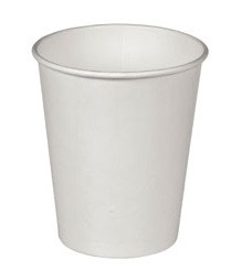 Стакан бумажный Белый для гор. напитков, 180 мл