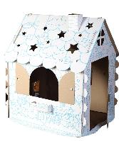 ХОММИК: Картонный домик раскраска