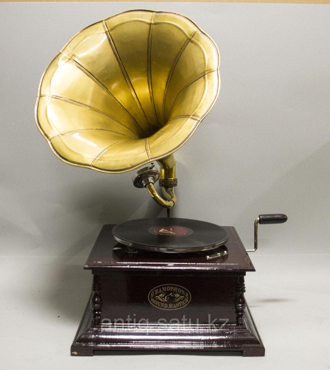 Голландский граммофон. 5 старинных пластинок в подарок покупателю. - фото 5