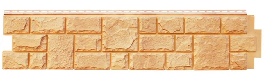 """Панель фасадная  """"ЯФАСАД"""" Екатерининский камень Песок 306x1487 мм Grand Line"""