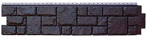 """Панель фасадная  """"ЯФАСАД"""" Екатерининский камень Уголь 306x1487 мм Grand Line"""