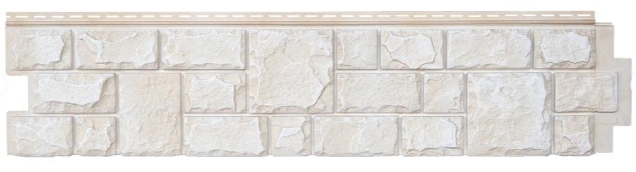 Фасадная панель Слоновая кость 306x1487 мм GL (Я-Фасад) Екатеринский камень