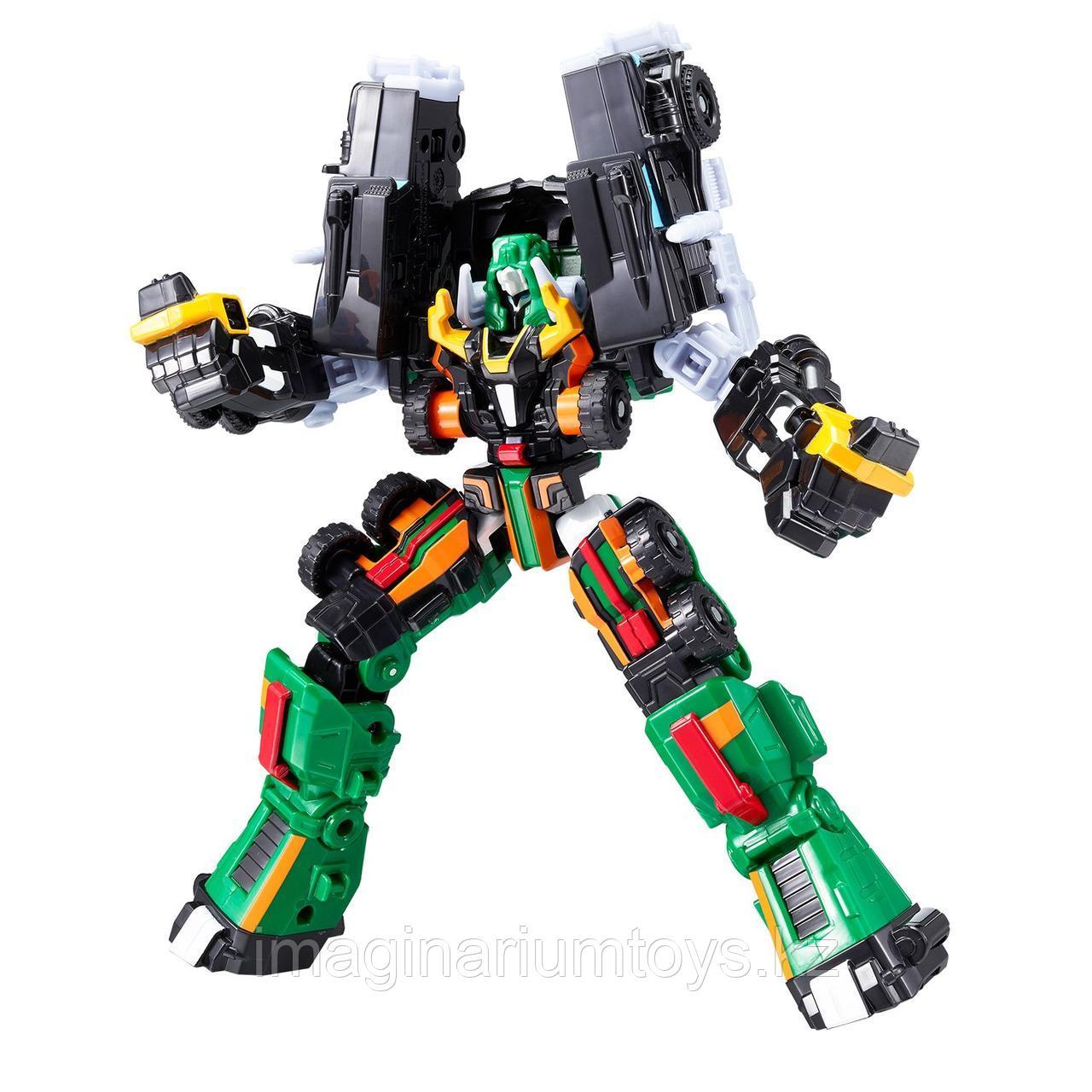 Робот Тобот трансформер Детективы Галактики Сержант Биг Бист