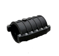 Хомут SDR 11 для ПЭ трубы Ду 250