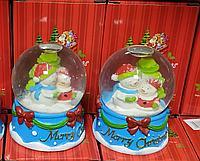 Новогодние шары в ассортименте (10 см.), фото 1