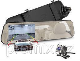 Зеркало регистратор с камерой заднего вида E5-T86