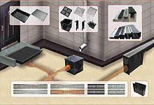 Системы поверхностного водоотведения (дождеприемники, водоотводные лотки, дренажные решетки)