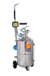 Пневматическое маслораздаточное устройство из нержавеющей стали, 24 л Meclube 027-1308-000