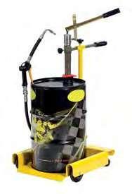 Ручной насос двойного действия с тележкой для бочек 30-60 л Meclube 027-1338-000