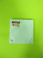 Салфетки бумажные однотонные бирюзовые