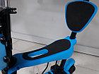 Самокат Scooter для детей с родительской ручкой и сидением, фото 5