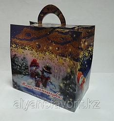 Коробка для новогодних подарков. Сундучок № 5