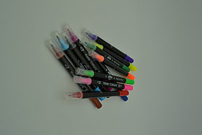 Набор фломастеров Water Colour Pen, 12 штук, фото 2