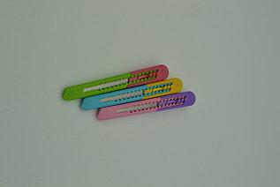Нож канцелярский разноцветный большой