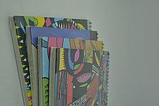 Скетчбук А4 Абстракция, фото 2