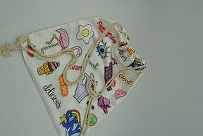 Сумка-мешок для обуви Cool бежевый, фото 2