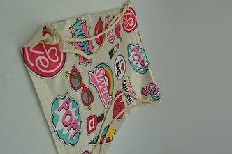 Сумка-мешок для обуви Sweet розовая, фото 2