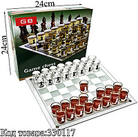 Алко-игра шахматы (Пьяные шашки) Game Chess BG 24х24см